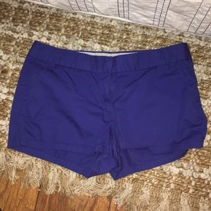 "J Crew Factory ""broken-in"" chino shorts"